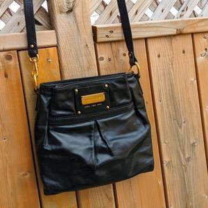 "Marc Jacobs Black ""Asa"" crossbody handbag"